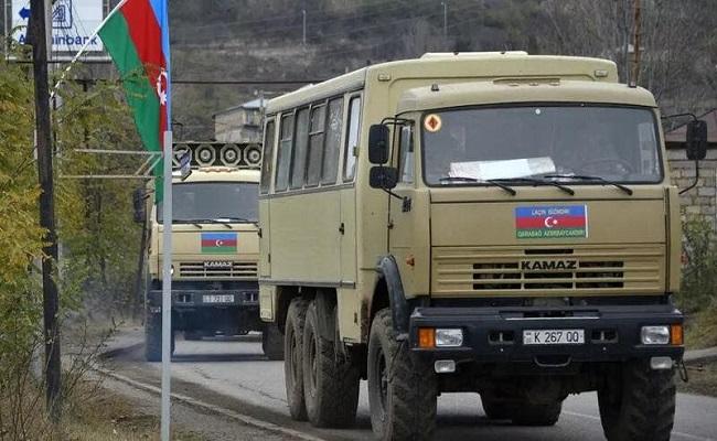 القوات الأذربيجانية تدخل لاتشين