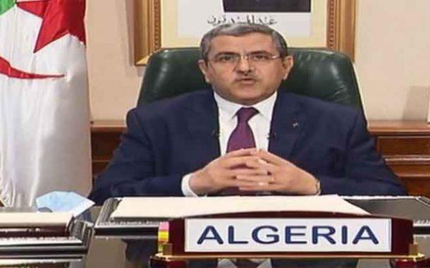 الجزائر تدعو المجتمع الدولي إلى الوحدة و التآزر للتغلب على وباء كورونا