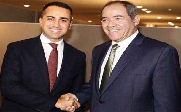 وزير خارجية إيطاليا يحط الرحال بالجزائر السبت المقبل