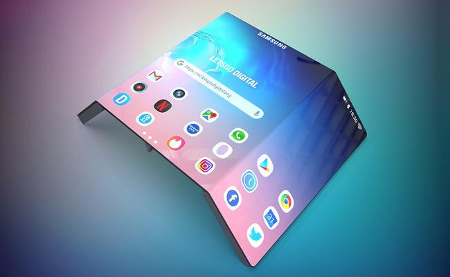 سامسونج ستطور شاشات قابلة للتدوير...