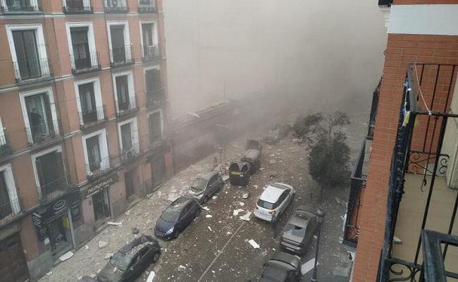 انفجار مجهول يهز العاصمة الإسبانية