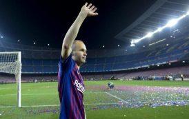 لابورتا يخطط لإعادة إنييستا إلى برشلونة...