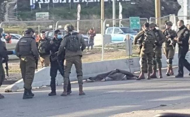 الجيش الإسرائيلي يطلق النار على فلسطيني