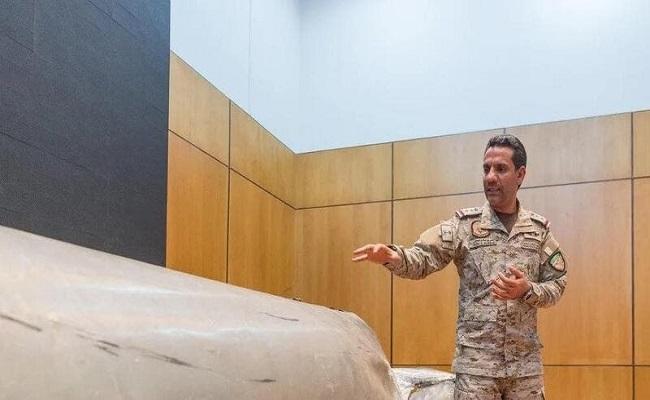 تدمير زورق مفخخ وطائرة مسيرة للحوثيين