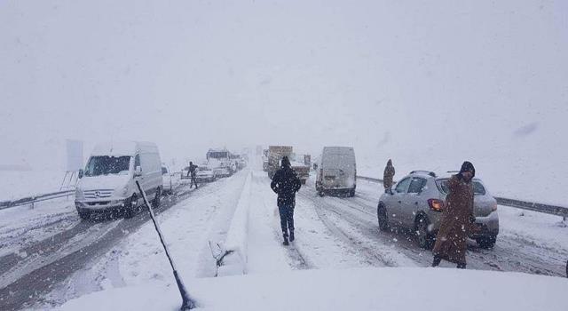 هذه هي الطرقات مقطوعة بسبب الثلوج