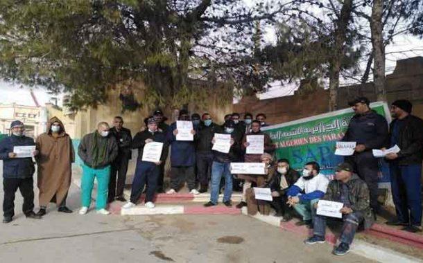 عمال مستشفى حاسي بحبح بالجلفة يحتجون من أجل المنحة الاستثنائية