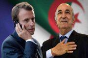 ماكرون أنا راضي على عمل تبون...فهل الجزائر مقاطعة فرنسية