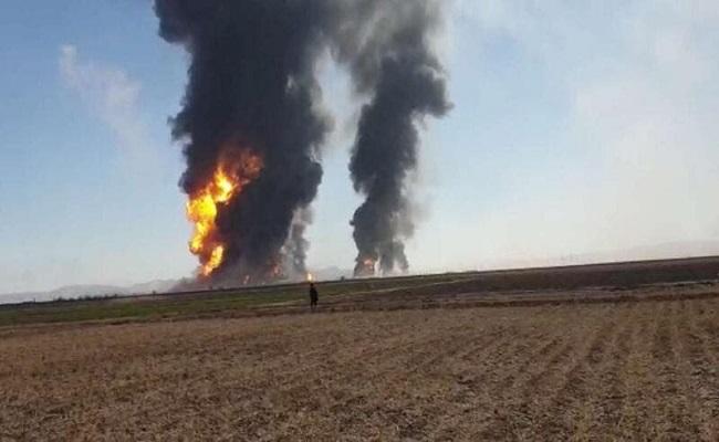 انفجار كبير في أفغانستان