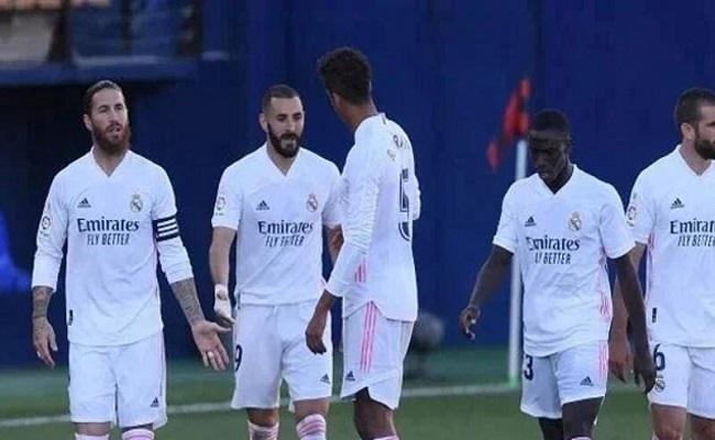 غياب 6 من لاعبين مدريد عن مواجهة بلد الوليد...