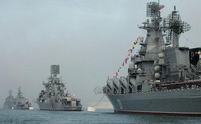 سفينة عسكرية روسية في السودان...