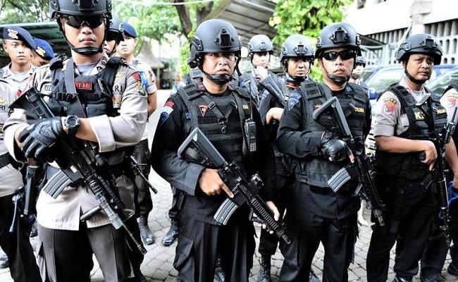إطلاق نار داخل مقر الشرطة في إندونيسيا