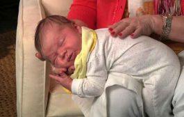 كيف يمكن اخراج الغازات من بطن الرضيع؟