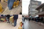 رغم رمضان تستمر معاناة الشعب الجزائري مع الطوابير