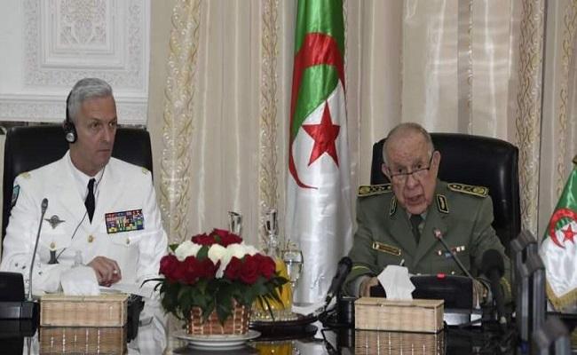 مندوب فرنسا بالجزائر الجنرال شنقريحة يستقبل قائد الجيوش الفرنسية لتخطيط للحروب أهلية في إفريقيا