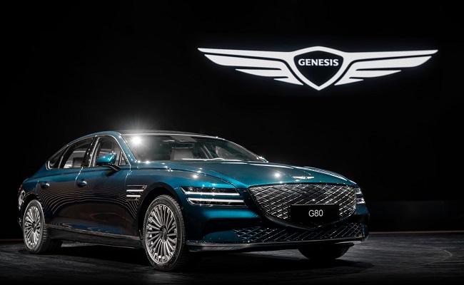 جينيسيس تطلق السيارة الكهربائية الأولى Electrified G80...