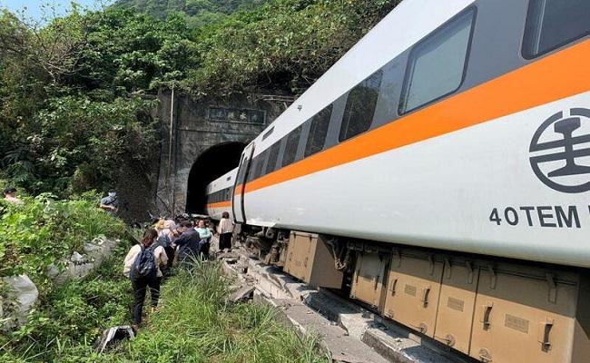مقتل 48 بحادث قطار في تايوان