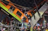 15 قتيلا بانهيار جسر لحظة مرور قطار أنفاق بالمكسيك