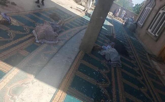 12  قتيل بانفجار في مسجد في كابول