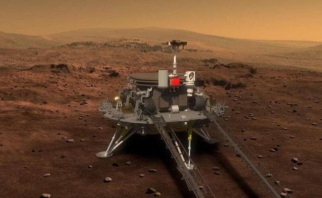 الصين تزاحم أمريكا في المريخ