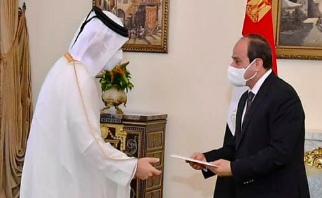 دعوة من تميم للسيسي لزيارة قطر