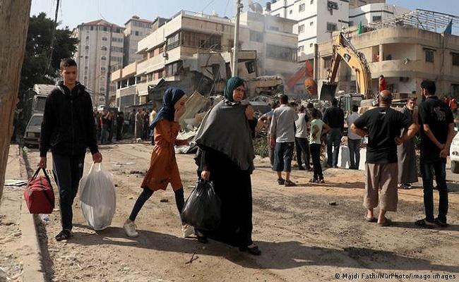 إنشاء ممر آمن لإدخال المساعدات الإنسانية لغزة