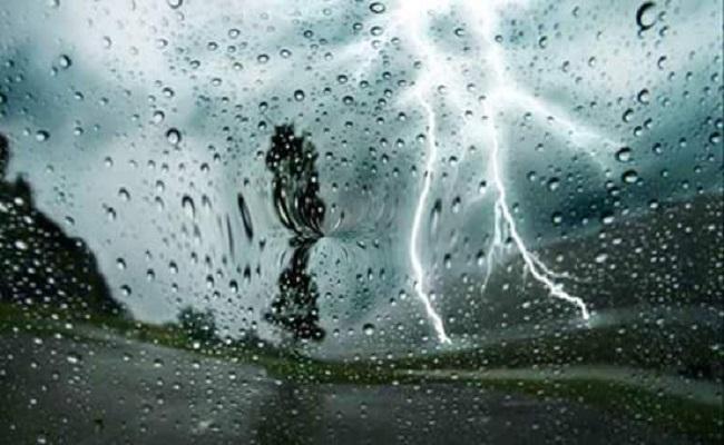 تحذير أمطار رعدية ستضرب  14ولاية