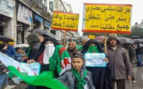 الجمعة 117 من عمر الحراك الشعبي : إصرار على الاحتجاج السلمي رغم الاعتقالات و التضييق و المنع