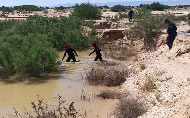 عملية البحث عن مفقود فيضانات بوسعادة متواصلة لليوم الثامن