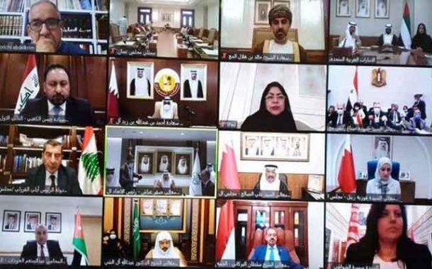 مشاركة مجلس الأمة في في جلسة طارئة للاتحاد البرلماني العربي حول الاعتداءات الإسرائيلية في المسجد الأقصى