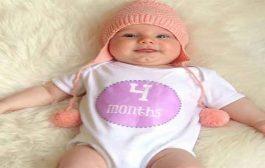 ما هي ابرز معالم نموّ الطفل في عمر 4 اشهر؟