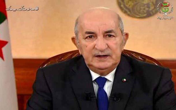 النص الكامل لكلمة رئيس الجمهورية للشعب الجزائري بمناسبة عيد الفطر المبارك