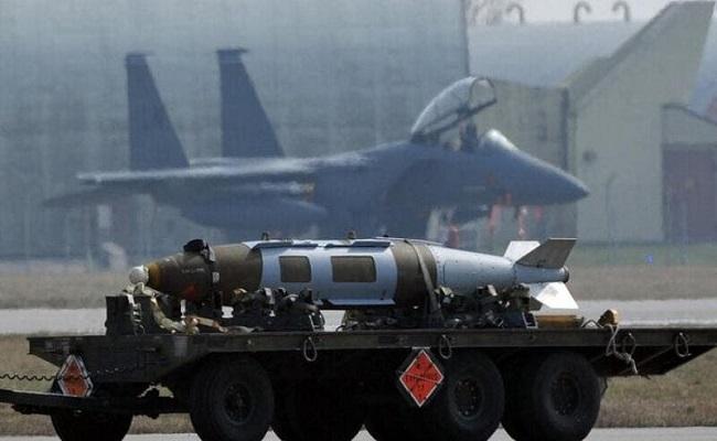 100 قنبلة نووية تخبئها أمريكا بأوروبا وتركيا...