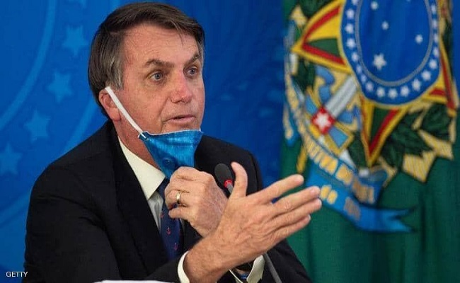 رئيس البرازيل يوبخ صحفي على المباشر