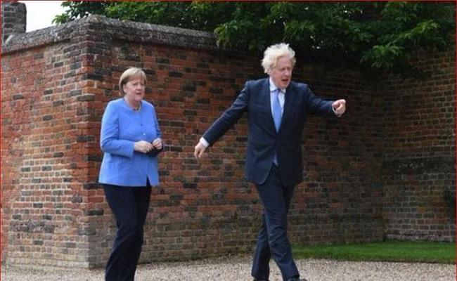 بريطانيا تهين ألمانيا