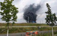 انفجار بمجمع كيماويات في ألمانيا
