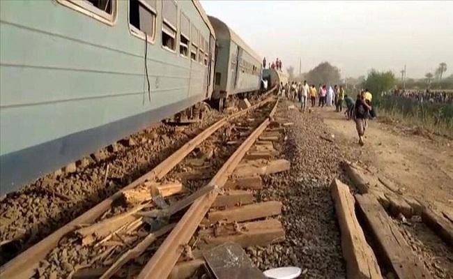 إصابات إثر حادث قطار بمصر