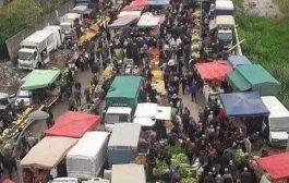 غلق أكبر سوق أسبوعي بمدينة بجاية