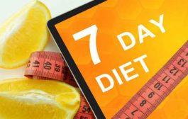ما هو رجيم السبع أيام؟ وكم ينزل من الوزن؟