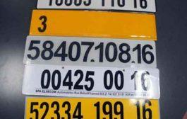 صدور أرقام الولايات الجديدة في لوحات ترقيم المركبات في الجريدة الرسمية