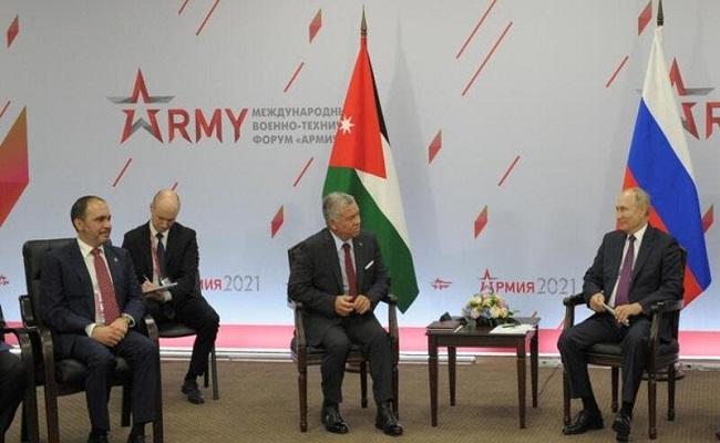 قمة أردنية روسية لبحث الملف السوري