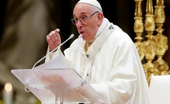 إرسال مغلف لبابا الفاتيكان به 3 رصاصات...