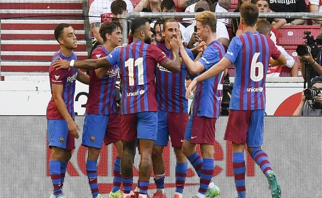 برشلونة يسقط ودياً أمام ريد بول...