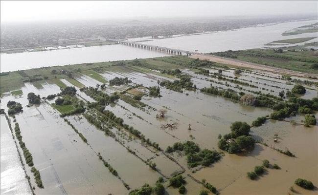 فيضانات جنوبي السودان