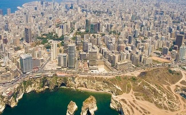 هزة أرضية سواحل بيروت