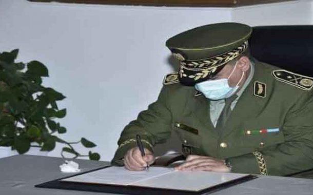 تنصيب العميد يحيى علي والحاج قائدا جديدا للدرك الوطني خلفا للواء نور الدين قواسمية