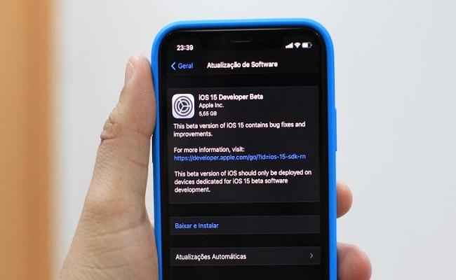 رسمياً آبل تطلق iOS15...