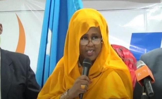 فوزية آدم تنافس على رئاسة الصومال