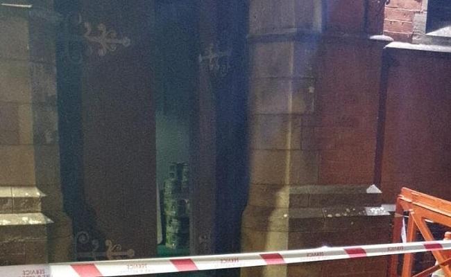 حرق مسجد في مانشستر