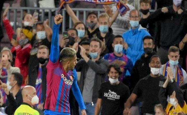 آراوخو ينقذ برشلونة من الخسارة...