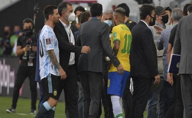 لدواعٍ صحية إيقاف مباراة البرازيل والأرجنتين...